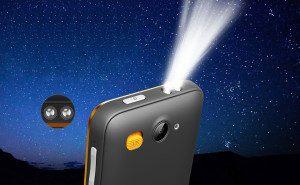 easyphone zaklamp